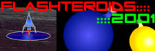 Play Flasteroids 2001 - New and Improved for 2001!